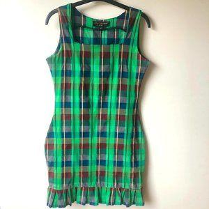 Betsey Johnson Vintage 90's Plaid Dress